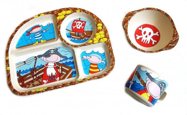 """Kinder-Set 3tlg. NATUR-DESIGN """"Pirat"""" - Magu 139 975"""