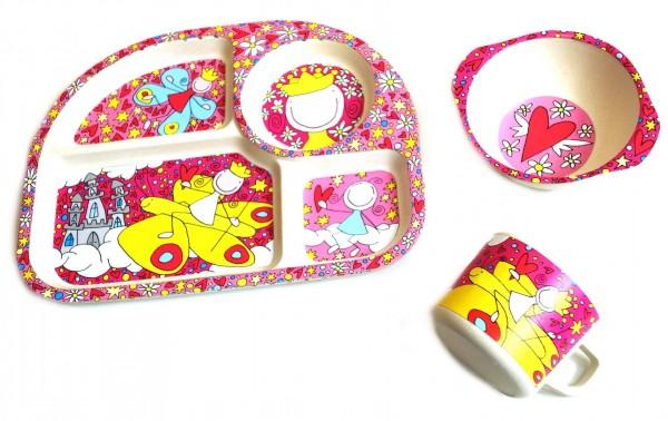 """Kinder-Set 3tlg. NATUR-DESIGN """"Prinzessin"""" - Magu 139 990"""
